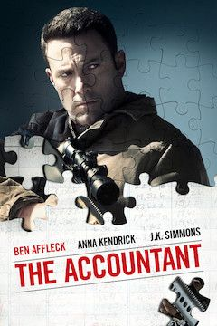 The Accountant movie poster.