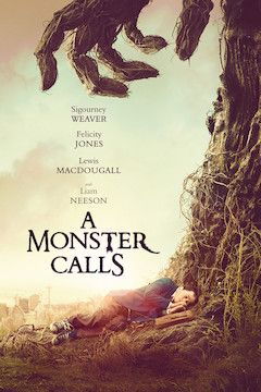 A Monster Calls movie poster.