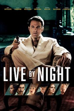 Live by Night movie poster.