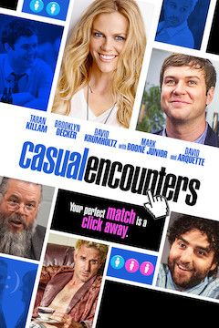 Casual Encounters movie poster.