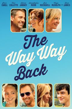 The Way Way Back movie poster.