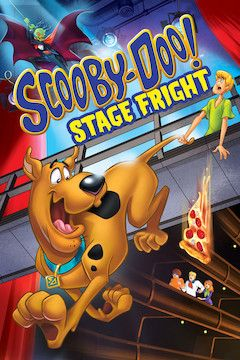 Scooby Doo! Stage Fright movie poster.
