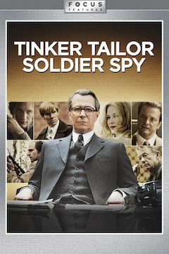 Tinker, Tailor, Soldier, Spy movie poster.