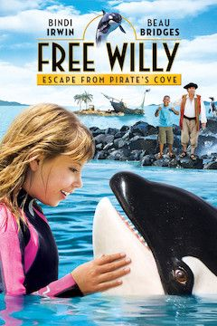 Free Willy: Escape From Pirate's Cove movie poster.