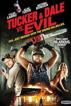 Poster for the movie Tucker and Dale vs. Evil
