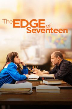 The Edge of Seventeen movie poster.