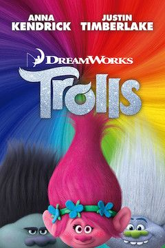 Trolls movie poster.