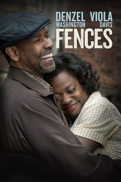 Fences movie poster.