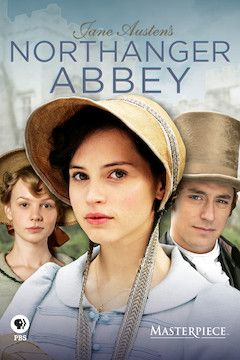 Northanger Abbey movie poster.