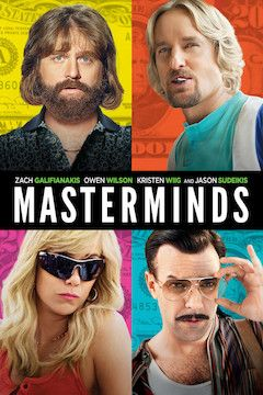 Masterminds movie poster.