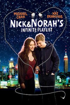 Nick and Norah's Infinite Playlist movie poster.