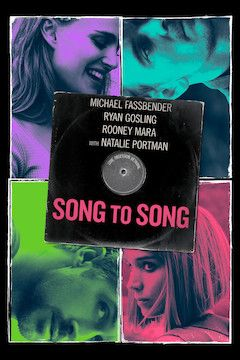 Song to Song movie poster.