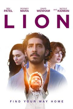 Lion movie poster.