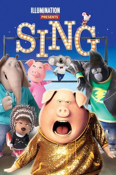 Poster for the movie Sing