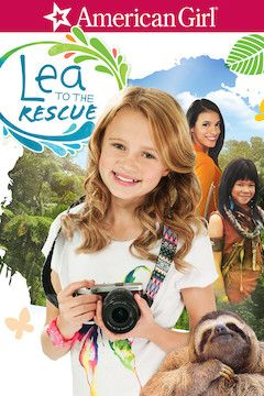 Lea to the Rescue movie poster.