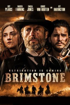 Brimstone movie poster.