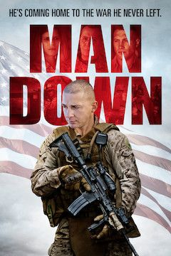 Man Down movie poster.