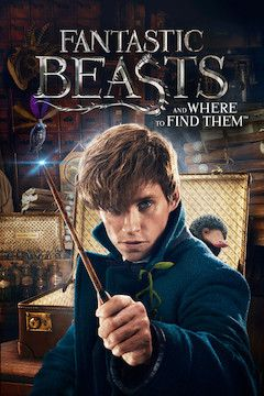 Fantastic Beasts and Where to Find Them movie poster.
