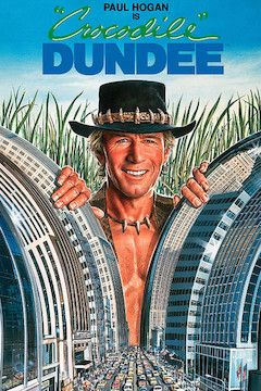 Crocodile Dundee movie poster.