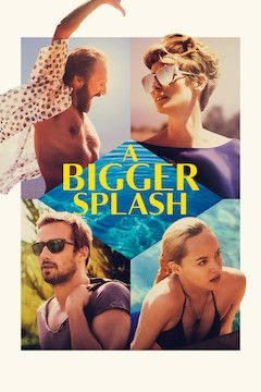 A Bigger Splash movie poster.