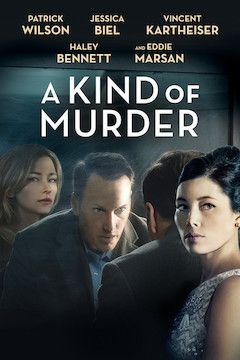 A Kind of Murder movie poster.
