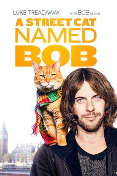 A Street Cat Named Bob movie poster.