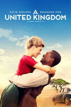 Poster for the movie A United Kingdom