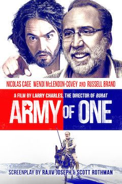 Army of One movie poster.