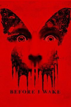Before I Wake movie poster.