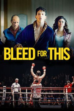 Bleed for This movie poster.