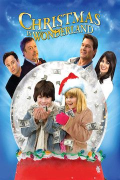 Christmas in Wonderland movie poster.