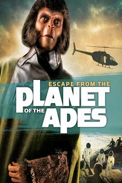 Poster for the movie Escape From the Planet of the Apes