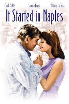 It Started in Naples movie poster.