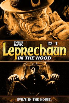 Leprechaun in the Hood movie poster.