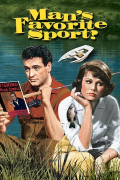 Man's Favorite Sport? movie poster.