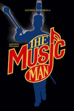 Meredith Willson's The Music Man movie poster.