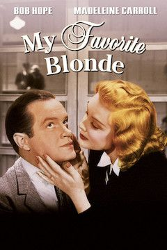 Poster for the movie My Favorite Blonde