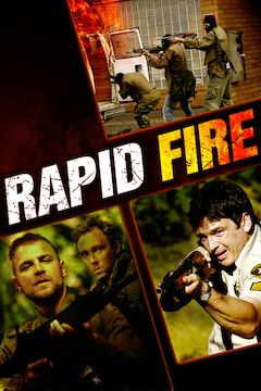 Rapid Fire movie poster.