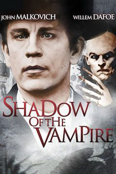 Shadow of the Vampire movie poster.