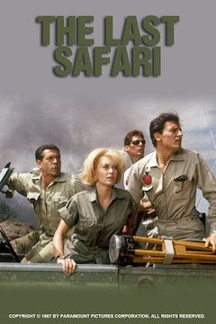 The Last Safari movie poster.
