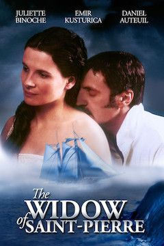 The Widow of St. Pierre movie poster.