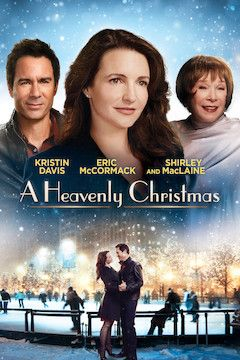 A Heavenly Christmas movie poster.
