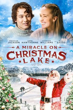 A Miracle on Christmas Lake movie poster.