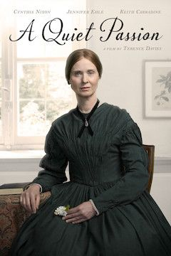 A Quiet Passion movie poster.