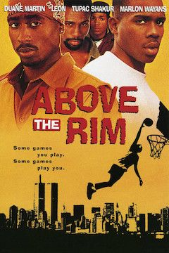 Above the Rim movie poster.