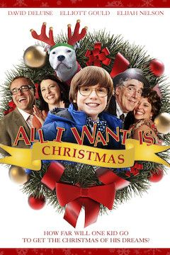 All I Want Is Christmas movie poster.