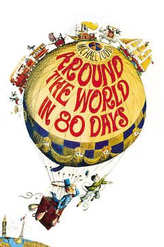 Around the World in 80 Days movie poster.