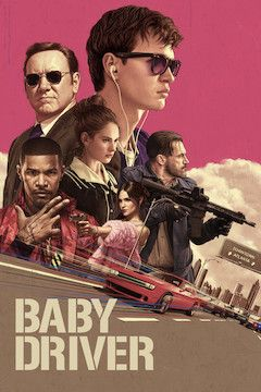 Poster for the movie Baby Driver