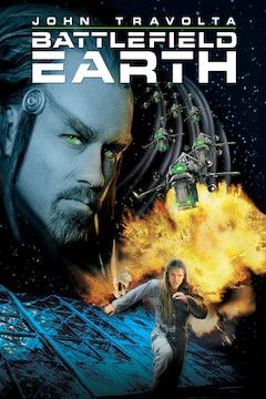 Battlefield Earth movie poster.