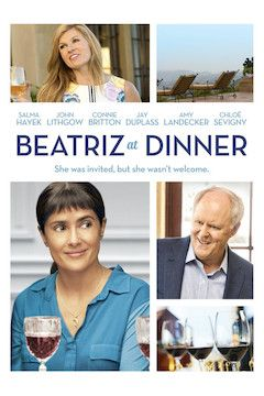 Beatriz at Dinner movie poster.